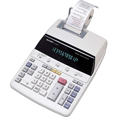 Sharp EL2192R  12-Digit Printing Calculator