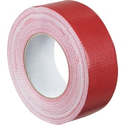 "Staples® Colored Duct Tape, Red, 2"" x 60 yards, 3/Pack"