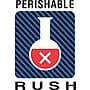 Tape Logic Staples Perishable Rush Shipping Label, 4