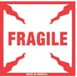 Tape Logic Fragile Staples® Shipping Label, 4in. x 4in.