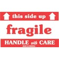 Tape Logic Fragile This Side Up Staples® Shipping Label, 3in. x 5in., 500/Roll