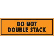 Tape Logic Do Not Double Stack Staples® Shipping Label, 2 x 6, 500/Roll