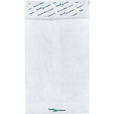 Staples® 6in. x 9in. Tyvek® QuickStrip Catalog Envelopes, 100/Box