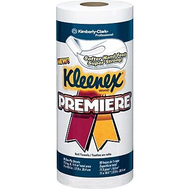 Kleenex Premier  Paper Towel Rolls, 1-Ply. 20/Case