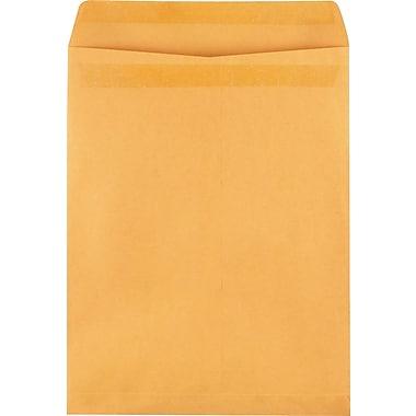 Staples Self-Sealing Catalog Envelopes, 12