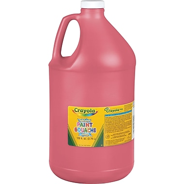 Crayola Washable Paint, Gallon, Red