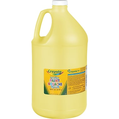 Crayola Washable Paint, Gallon, Yellow