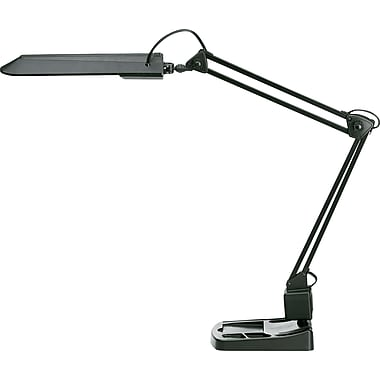 Tensor® Adjustable Architect's Organizer CFL Desk Lamp, Black