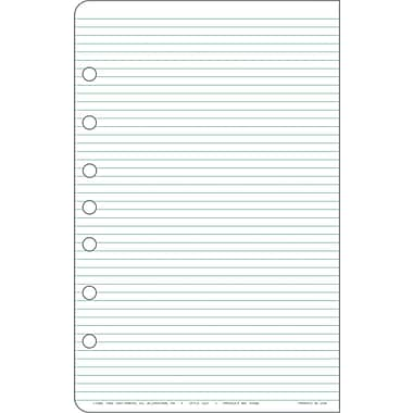 Day-Timer® Lined Pages, Desk Size