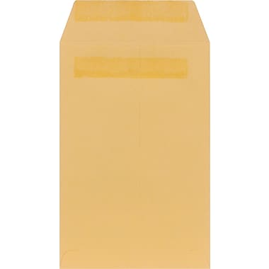 Staples® Brown Kraft Self-Sealing Catalog Envelopes