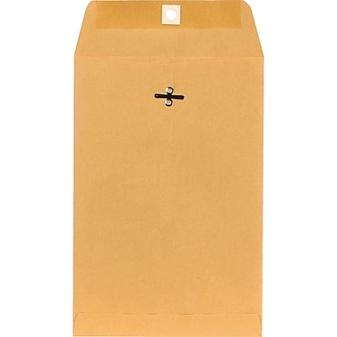 Staples Clasp Kraft Catalog Envelopes, 6-1/2