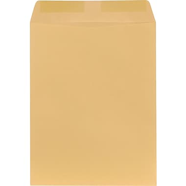Staples® 10in. x 13in. Brown Kraft Catalog Envelopes, 250/Box