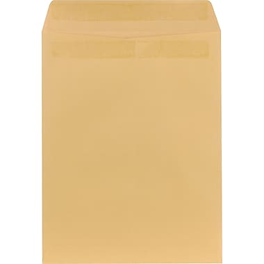 Staples® 10in. x 13in. Brown Kraft Self-Sealing Catalog Envelopes, 250/Box