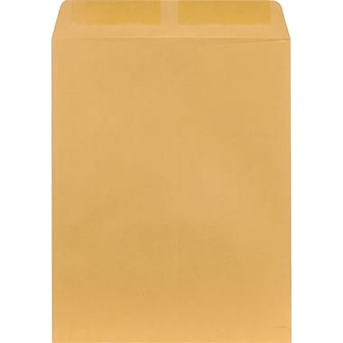 Staples® 11-1/2in. x 14-1/2in. Brown Kraft Catalog Envelopes, 100/Box