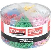 Staples® Vinyl Coated Paper Clips