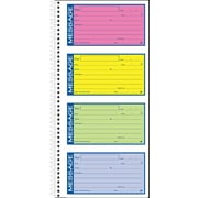 Adams® High-Impact Spiral Phone Message Book