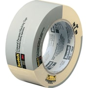 "3M Scotch® Commercial-Grade Masking Tape 1.88"" x 60 Yards Natural (2020-2A-BK)"