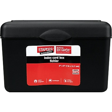 Staples® Card Files