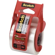 "Scotch Heavy Duty Strapping Tape with Dispenser, 1.88"" x 360"", 1/Pack"