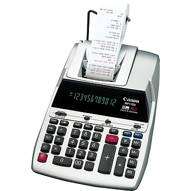 Canon® - Calculatrice imprimante MP-11DX, 12 chiffres