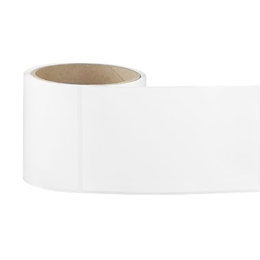 3 x 5 Perfed White Permanent Adhesive Thermal Transfer Roll Label