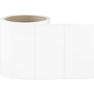 4 x 2 White Permanent Adhesive Thermal Transfer Roll Label
