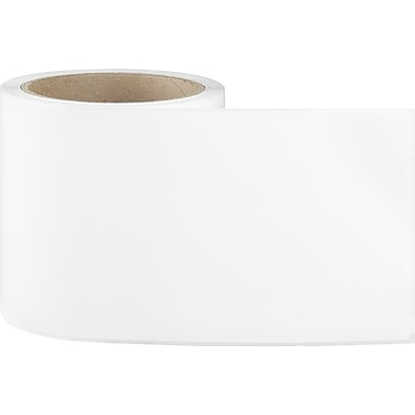 4 x 6 Perfed White Removable Adhesive Thermal Transfer Roll Sato Compatible Label/Ribbon Kit