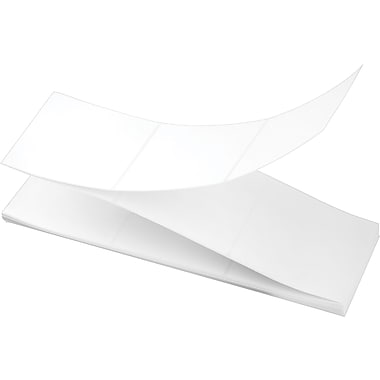 4 x 4 Perfed White Permanent Adhesive Thermal Transfer Fanfold Intermec Compatible Label/Ribbon Kit