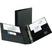 2 Avery® Heavy-Duty Binder with One Touch™ EZD® Rings, Black