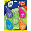 Liquid Paper® DryLine Mini Correction Tape Fashion Colors, 5/Pack
