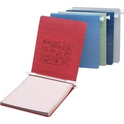 "Acco® Hanging Data Binders Presstex® Covers, 9 1/2"" x 11"""