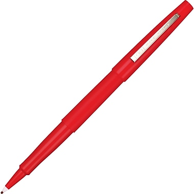 Paper Mate Flair® Felt-Tip Pens, Medium Point, Red, Dozen