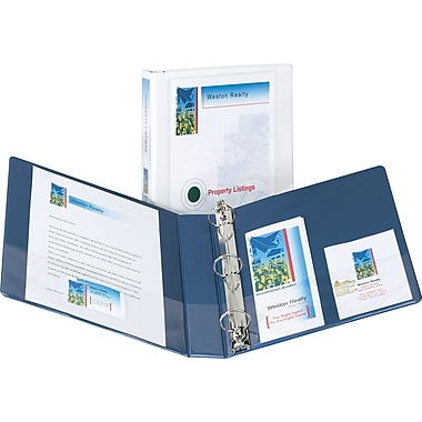 1-1/2in. Avery® Design Edge View Binders with EZ-Turn™ Rings