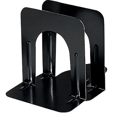 MMF Industries 5in.High Black Economy Bookends
