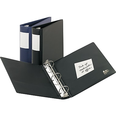 3in. Avery® Heavy Duty Binders with Round Ring and Label Holder