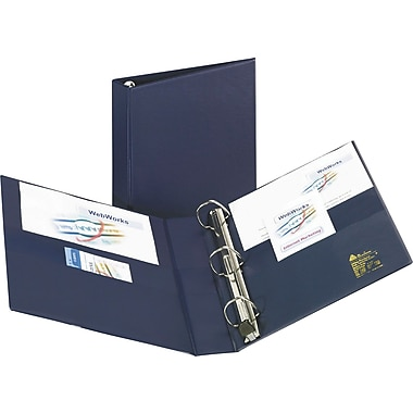 2in. Avery® Heavy-Duty Binder with One Touch™ EZD® Rings, Navy Blue