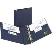 2 Avery® Heavy-Duty Binder with One Touch™ EZD® Rings, Navy Blue