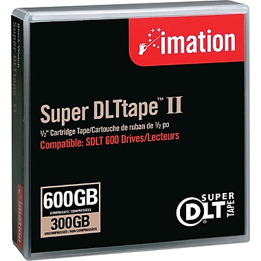 Imation 300/600MB Super DLT II Data Cartridge