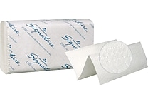 Signature® Premium Multifold Paper Towels, White, 2-Ply, 2,000/Case