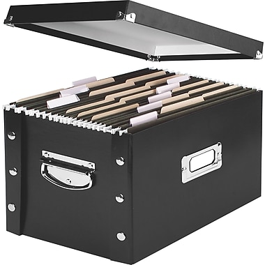Snap-N-Storage™ Collapsible Storage Box, Letter/Legal