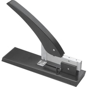 Staples® High-Capacity Stapler, 200 Sheet Capacity, Black/Gray
