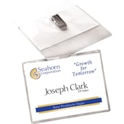 Avery® Top Loading Clip Style Name Badges