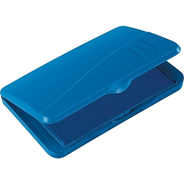 Cosco® 2000 Plus® Gel-Based Stamp Pad, Blue, #1- 2 3/4in. x 4 1/4in.