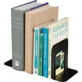 MMF Industries 5in. High Black Deluxe Bookends