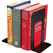 "MMF Industries™ 9"" High Black Deluxe Bookends"