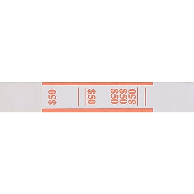Orange $50 Currency Straps
