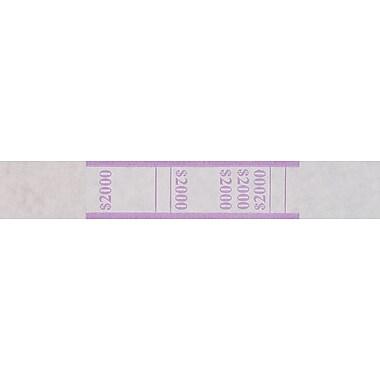 Violet $2,000 Currency Straps