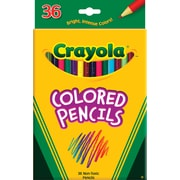 Crayola® Colored Pencil Set, Soft , 3.3 mm, Assorted, 1/Set (684036)