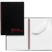 Black N' Red™ Twin Wire Notebook, 8-1/2 x 11