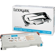 Lexmark Cyan Toner Cartridge (20K1400), High Yield